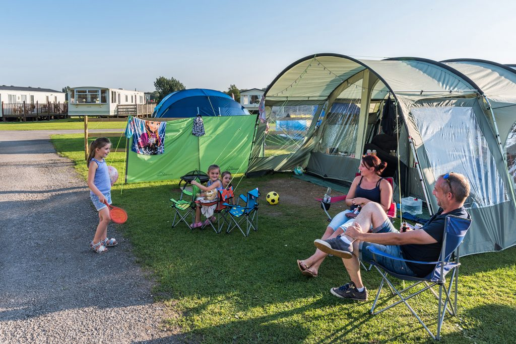 UK staycation campsites.