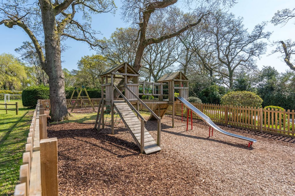 Children's play area at Sandyholme