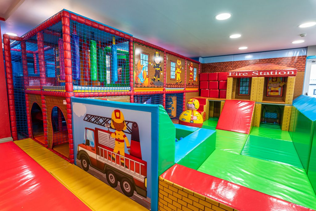 Little Fire Station Soft Play at Highlands End