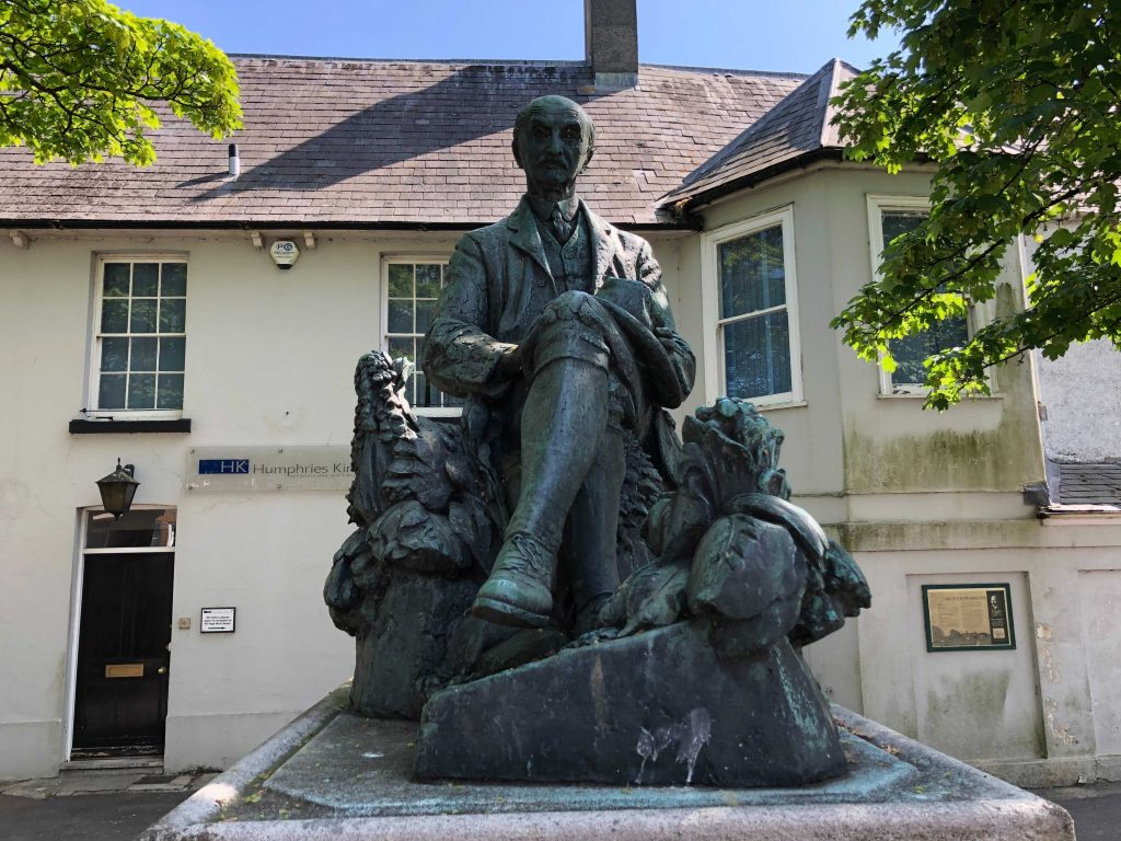Thomas Hardy Statue Dorchester