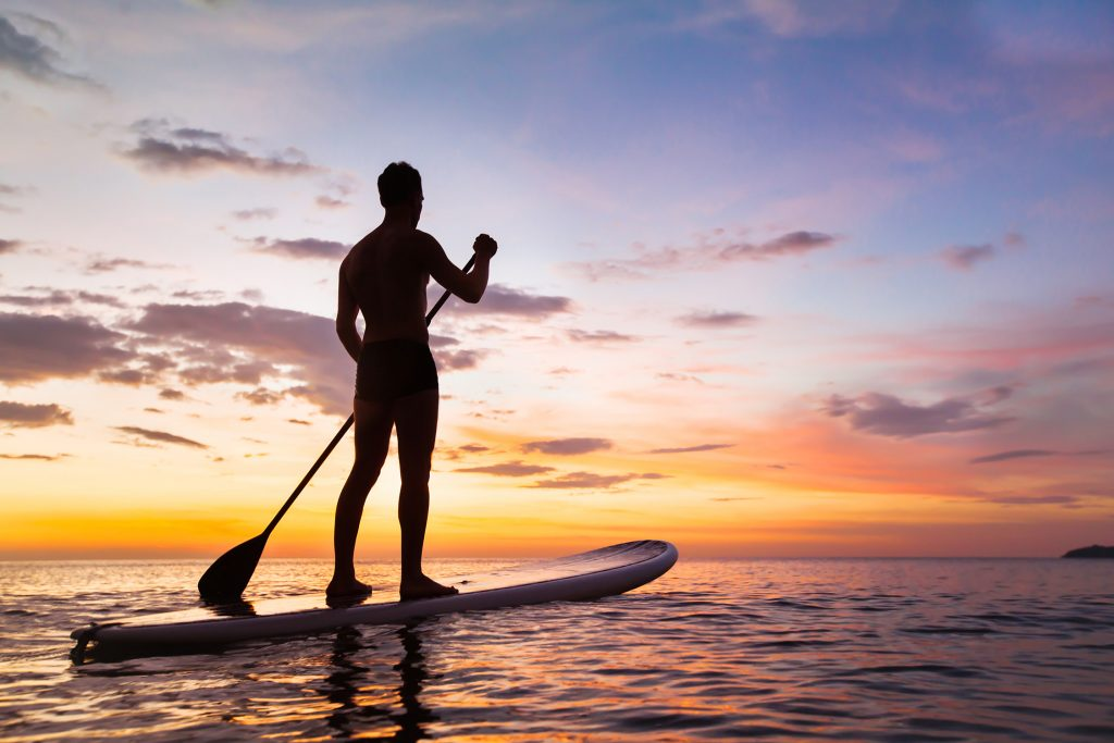 stand up paddle boarding in dorset