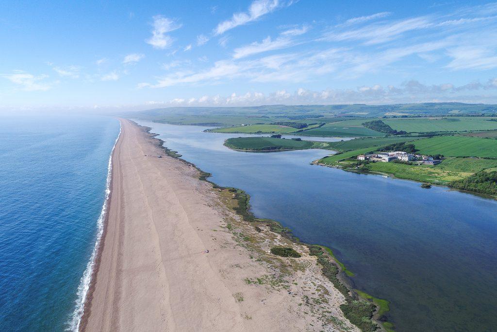 chesil beach and the fleet lagoon