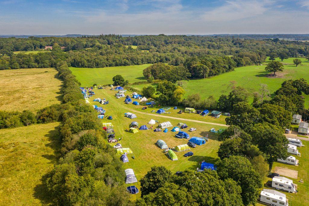sandyholme meadow campsite in dorset