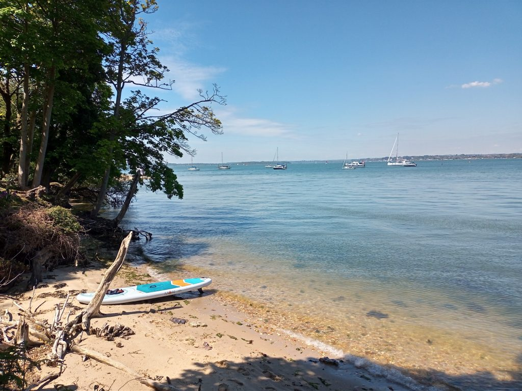 stand up paddle boarding poole harbour